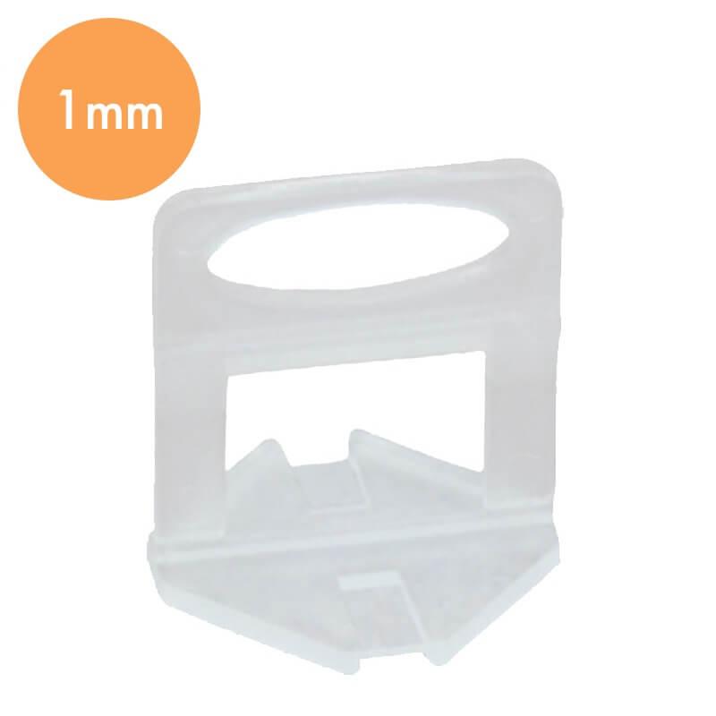 Tegel Levelling Clips 1mm – Tegel Dikte 3-13mm