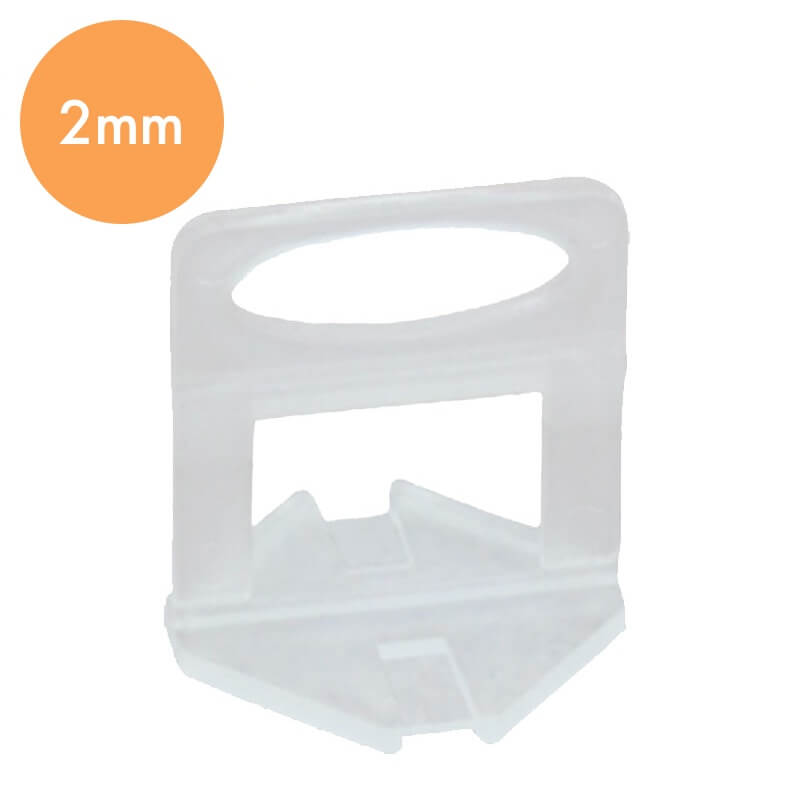 Tegel Levelling Clips 2mm – Tegel Dikte 3-13mm