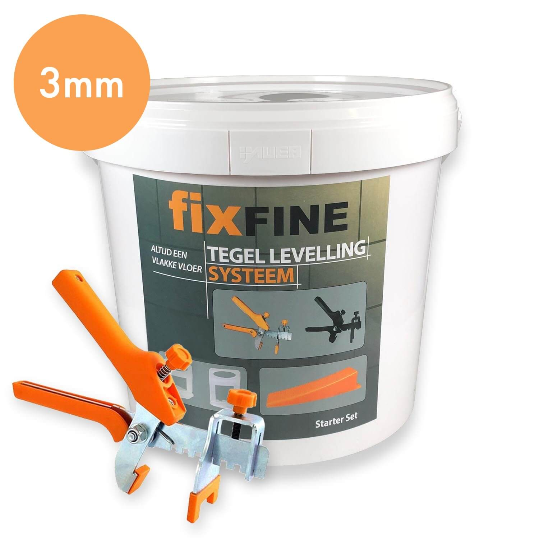 Tegel Levelling Starter Set 3mm – PRO