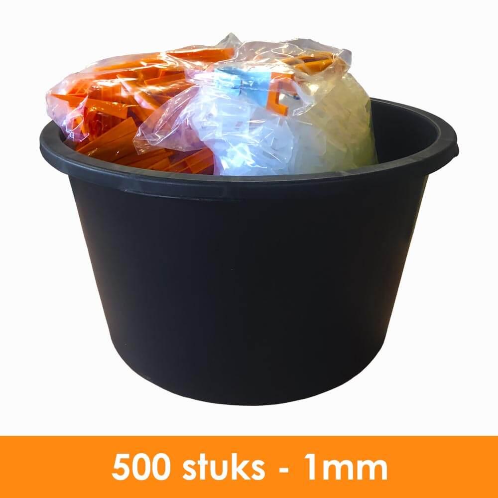1mm – Tegel Levelling Starter Set PRO – 500 stuks